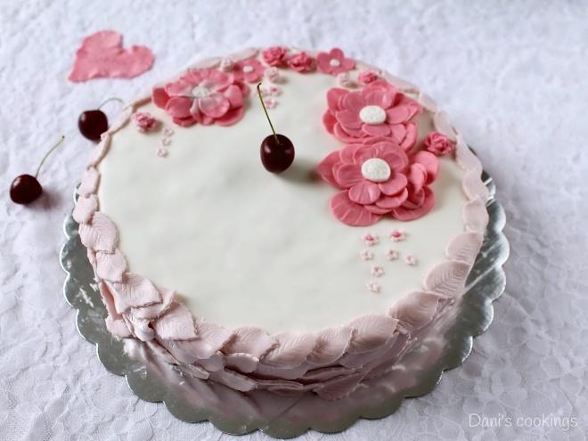 Cherry Almond cake - daniscookings.wordpress.com